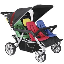 Babytrold institutionsklapvogn - Trille Duo S4