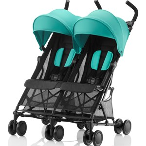 Britax Holiday Double Stroller Aqua Green One Size