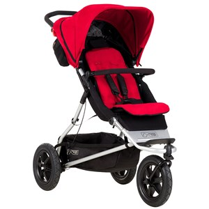 Mountain Buggy Plus One Stroller Red One Size