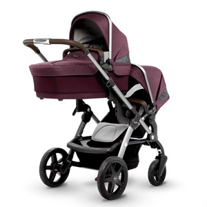 Silver Cross Wave Claret Carry Cot/Seat Wave Claret Seat/Carrycot