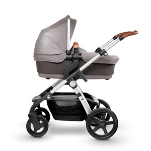 Silver Cross Wave Sable Light Grey Carry Cot/Seat Wave Sable Light Grey Seat