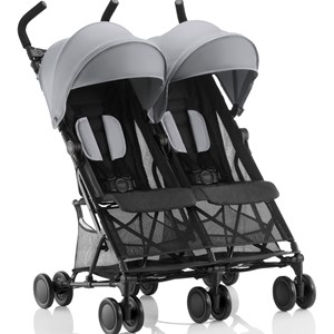 Britax Holiday Double Stroller Steel Grey One Size