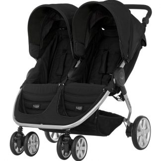 Britax Søskendevogn, B-Agile Double, Cosmos Black One Size